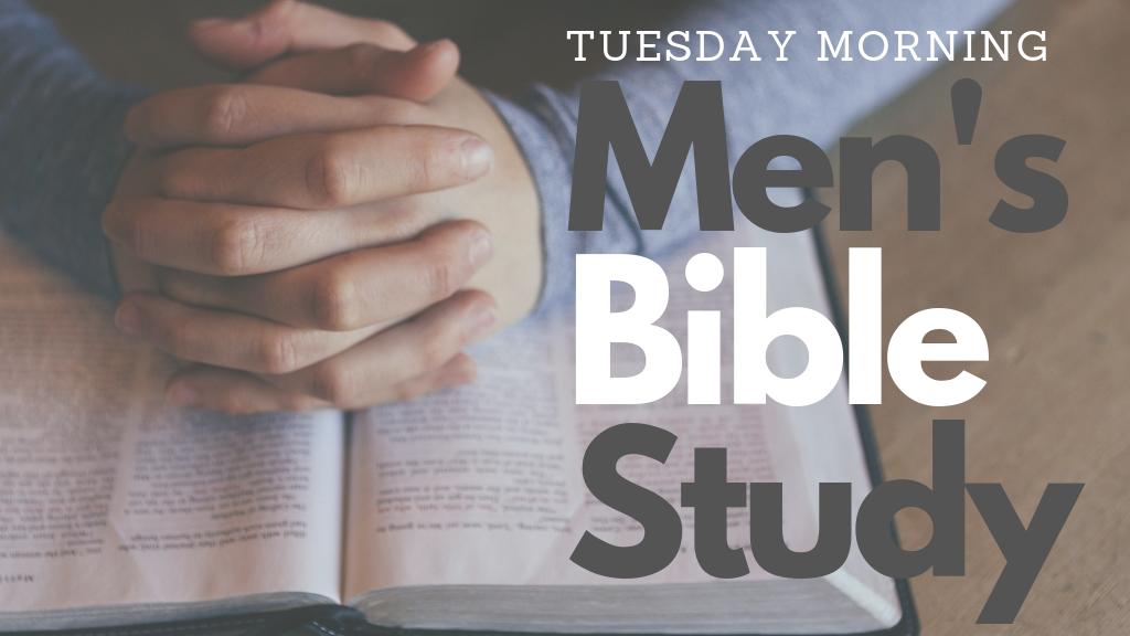 Men's Bible Study   Bath Campus