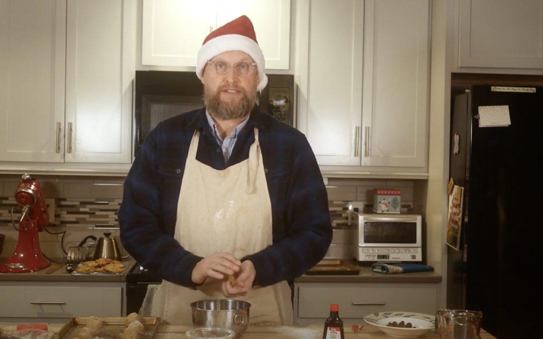 Baking with Brad – Joy (Peanut Butter Crinkle Cookies)